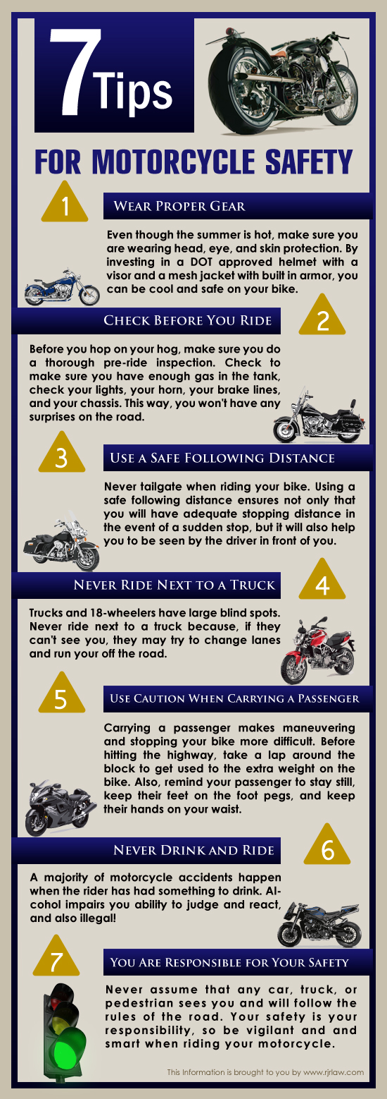 Bikers Safety Tips